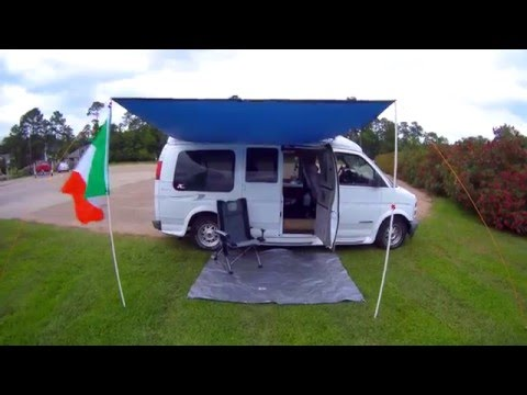DIY Van Awning for UNDER $50!  Check it OUT!
