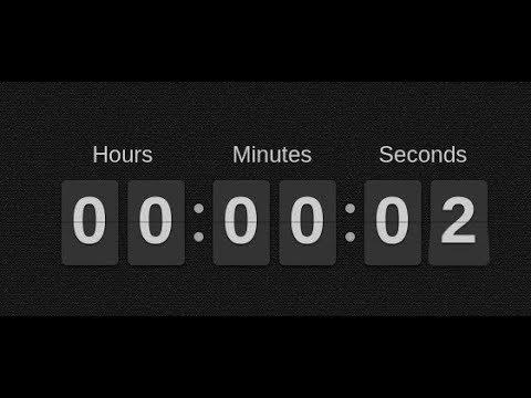 Simple JQuery Flip Countdown Timer – flipclockjs