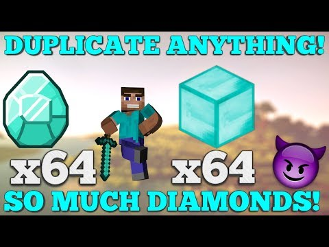 Minecraft: How to Duplicate ANY block 1.12.2! *SURVIVAL*