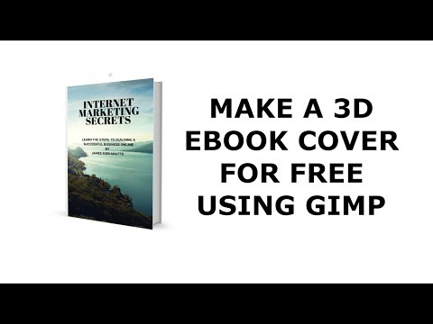 How to make an 3D ebook cover with GIMP- 2017