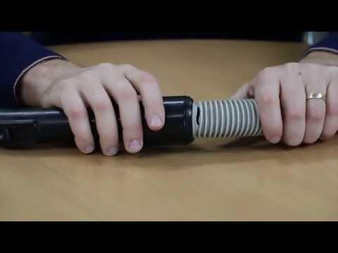 Repair a split ducted vacuum hose - Aussie Vac Melbourne Sydney