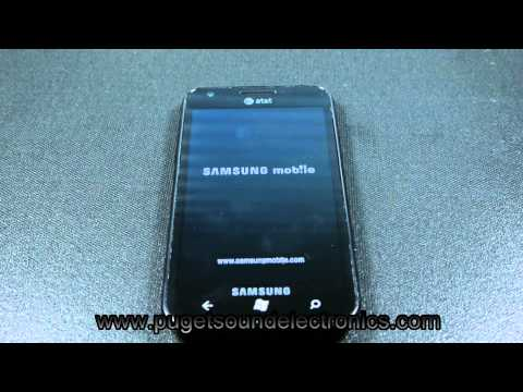 How to unlock At&t Samsung Focus S SGH i937