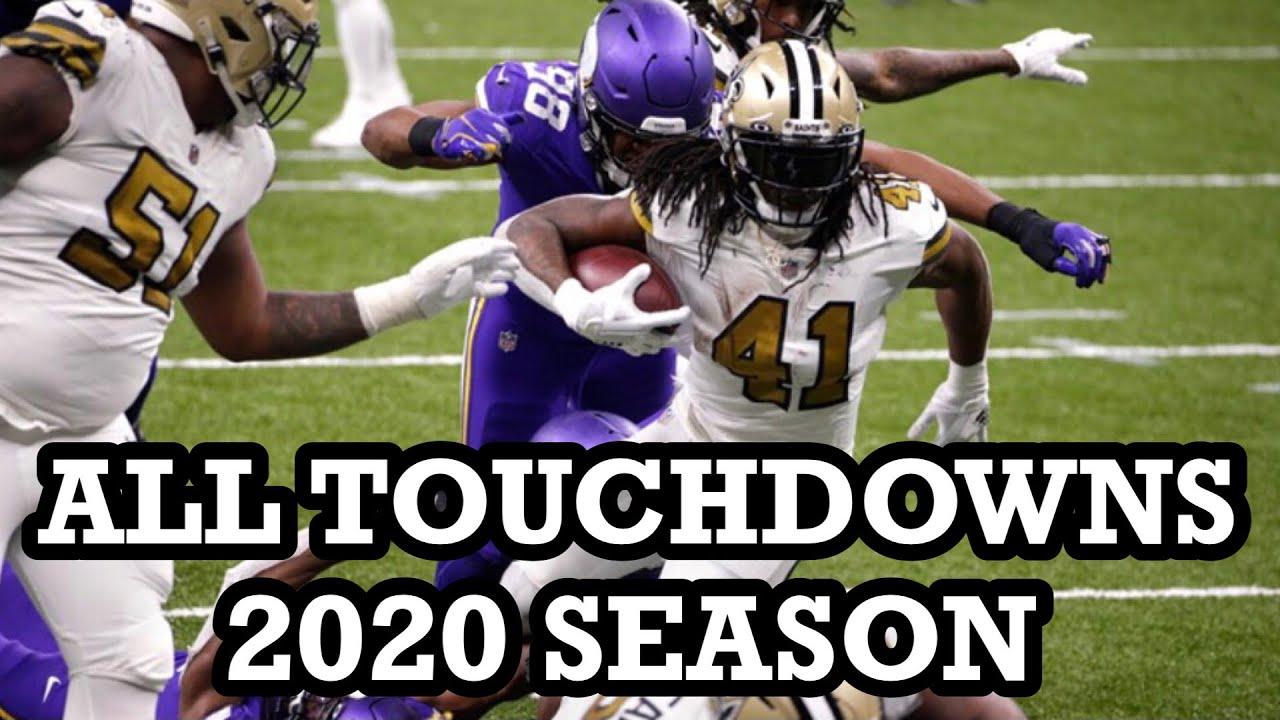ALL Saints Touchdowns of 2020