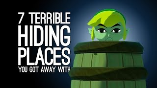 7 Terrible Hiding Places You Somehow Got Away With