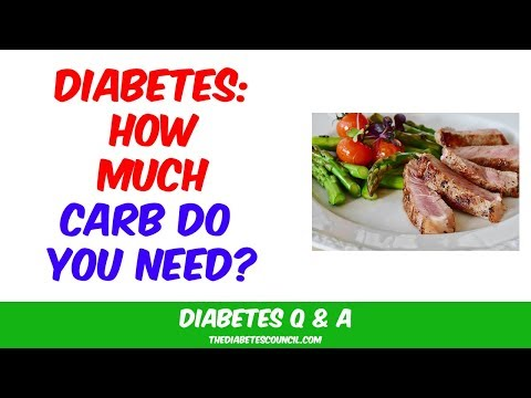 How Much Carbs Should I Eat If I Have Diabetes?