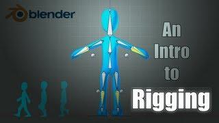 Blender Tutorial: Basics of Character Rigging