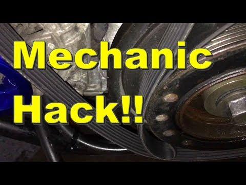 LIFE HACK 1JZ / 2JZ crank pulley bolt removal EASY!