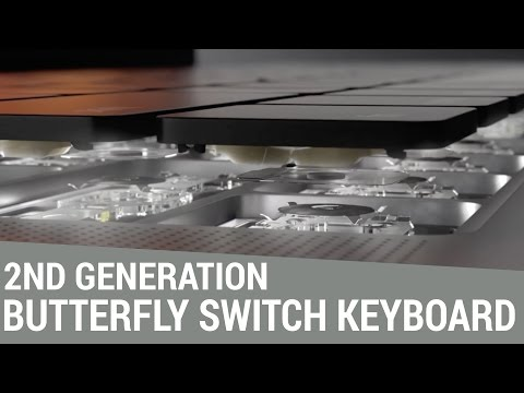 Has the MacBook Pro's 2nd Generation Ultra-thin Butterfly Switch Keyboard Improved?
