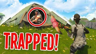 PYRAMID TRAPPING THE FINAL PLAYER in Fortnite Battle Royale