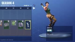 FORTNITE HYPE DANCE! (1 HOUR)