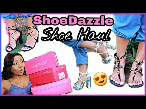 The Perfect Summer Shoes! ShoeDazzle Try-On Haul | PRETTY FEET!