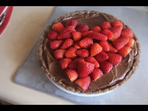 Chocolate Strawberry Tart Recipe for WomenHeart