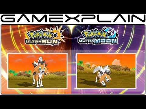 New Lycanroc Form Revealed for Pokémon Ultra Sun & Ultra Moon!
