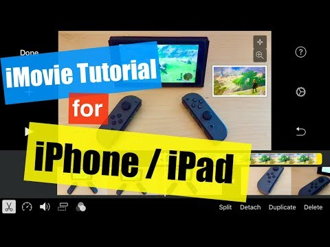 iMovie for iOS Tutorial - Picture in a Picture with a Photo 2017