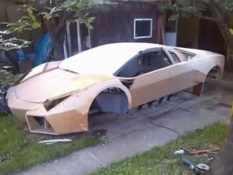 Lamborghini Reventon replica Part 2