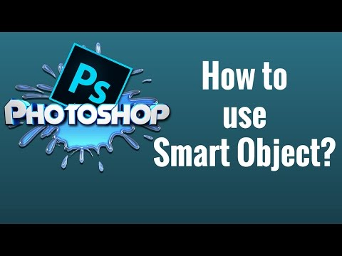 How to use Smart Object in Photoshop CC Tutorial