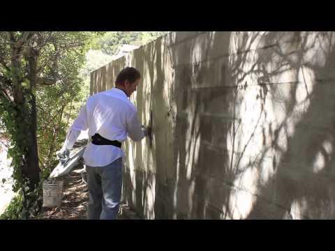 DIY Instructions on Rendering plaster on external CMU block walls