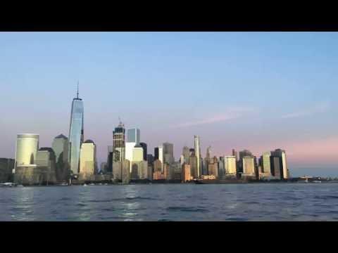 New York Manhattan view from jersey city
