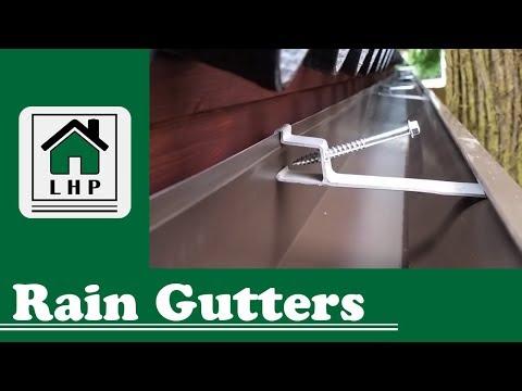 Shed Rain Gutter Installation - LHP