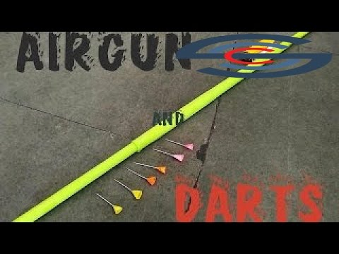 The best Videos - How to make a paper Blowgun & Darts or Airgun - Easy Tutorial