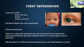 Refraction and Retinoscopy in Children- Refractive error and Management: Kimberly McQuaid