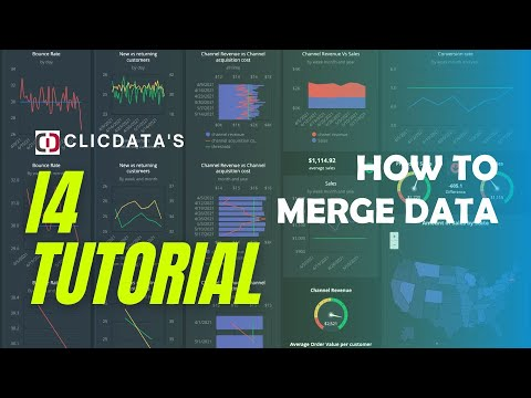 How to merge Data - ClicData i4 Tutorial
