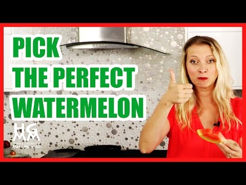 How to Pick the Best Watermelon | With Hilah Johnson