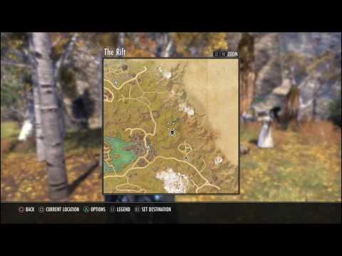 Elder Scrolls Online Ps4- WereWolf Shrine Location