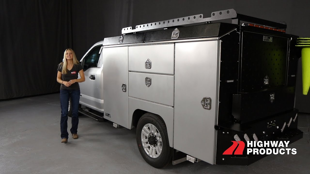 Highway Products, Inc. | Custom Aluminum Service Body Walkthrough