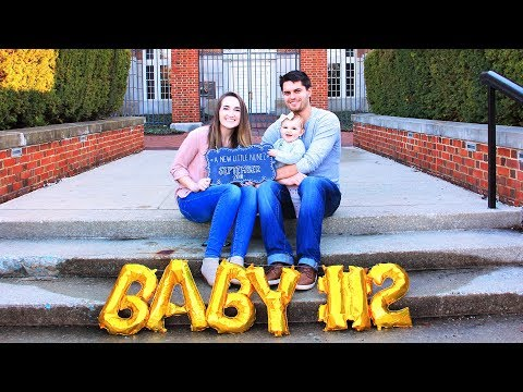 PREGNANCY ANNOUNCEMENT!!! We're having a BABY!
