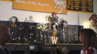 Rev. Al Sharpton speaks at Wenonah Unity Breakfast 2017