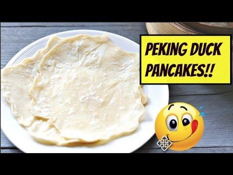 CHINESE (PEKING DUCK) PANCAKES!! | VEGAN