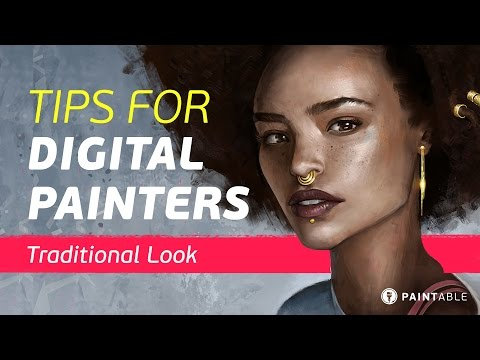 Digital Painting Tips & Tricks: How to Achieve a Traditional Look With Texture Brushes