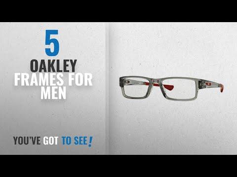 Top 10 Oakley Frames For Men [ Winter 2018 ]: Oakley Airdrop OX8046-09 Eyeglasses 55mm