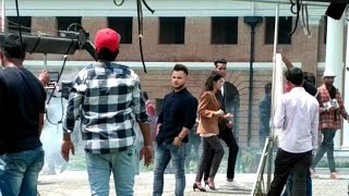 millind  Gaba shooting sound Tu Mera Main Teri Ho Gayi Real shooting in Dehradun FRI