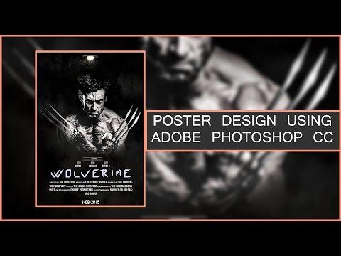 Movie Poster Designing Photoshop CC Tutorial
