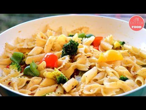 Stir-Fried Vegetable Pasta │Episode 096│ I'll Eat For Food