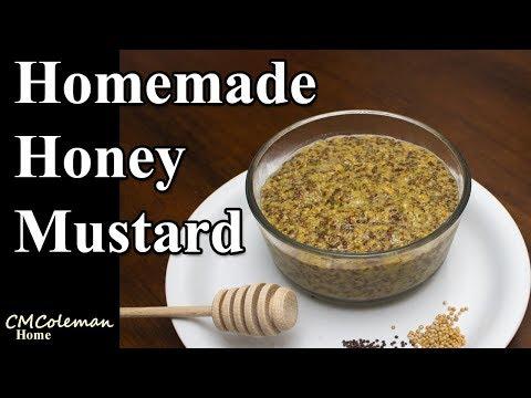 Easy Homemade Honey Brown Mustard Recipe