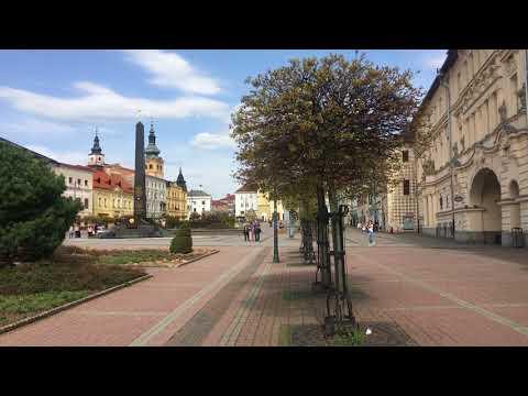 Banska Bystrica Sehenswürdigkeiten - Besztercebánya látnivalók - Banska Bystrica Hauptplatz