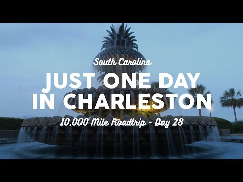 One Day in Charleston, SC | 10K Road Trip Vlog Day 28