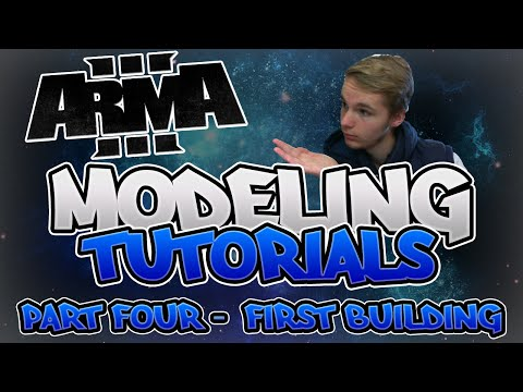 Arma 3 Modeling Tutorials| Part 4 | Building Our First Building!?!?
