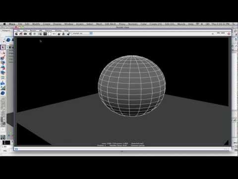 How To Render Out Wireframes In Maya