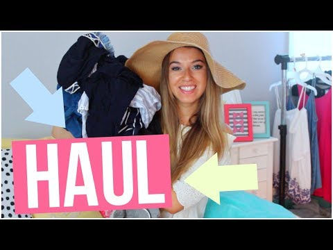 TRY ON SUMMER CLOTHING HAUL!: Shein, Primark, Target and more!