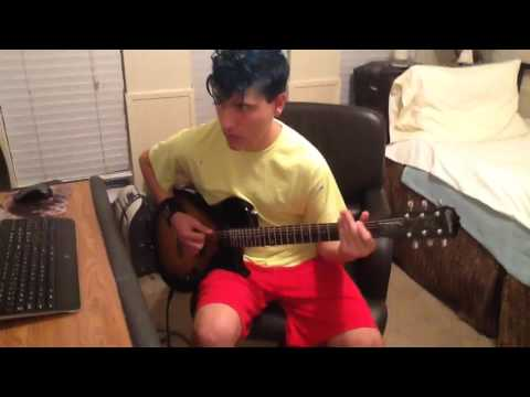 Dyed my Hair Blue, Black Sunshine by White Zombie Guitar Cover