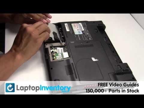 Gateway M6000 M1600 Hard Drive Replacement Install Guide - SA1, SA6