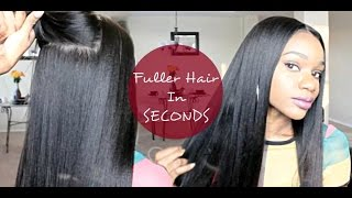 Natural To Thick Fuller Hair In Seconds  Twingodesses