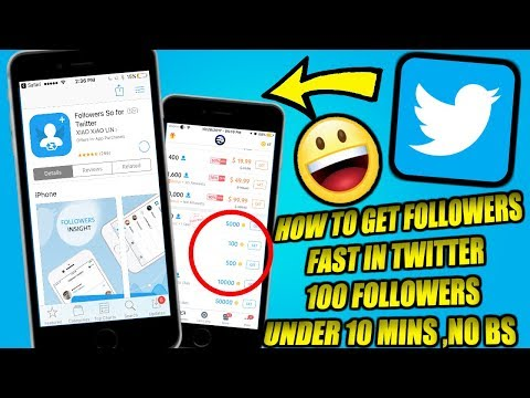 HOW TO GET FOLLOWERS IN TWITTER FAST!! GET 100 FOLLOWERS LESS THAN 10 MINS!! LEGIT WORKING 2018