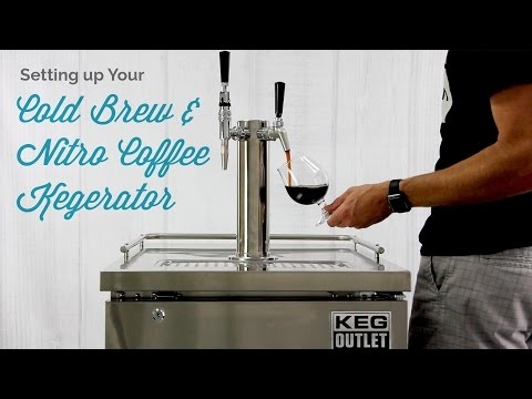 Setting Up Your Cold Brew & Nitro Coffee Kegerator
