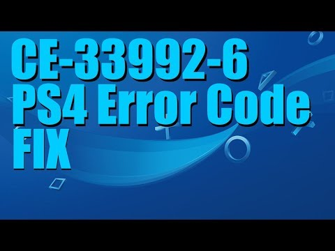 Can't Sign Into Playstation Network | Error CE-33992-6