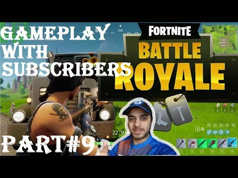 FORTNITE WITH SUBSCRIBERS HINDI part 9 Ps4